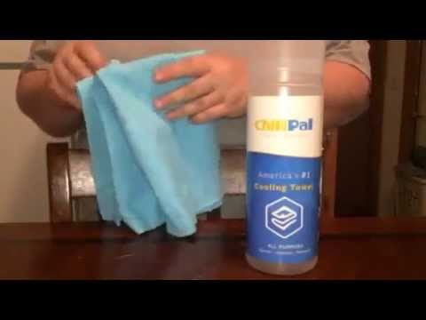 Chill Pal Instant Cooling Snap Towel Product Perfect Review