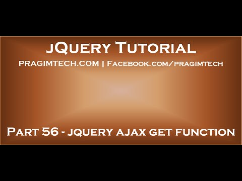 jquery ajax get function