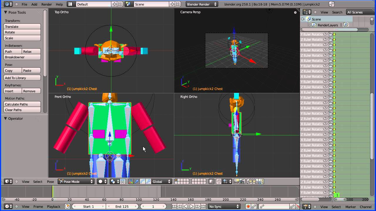 Motion Capture Bvh Files free download