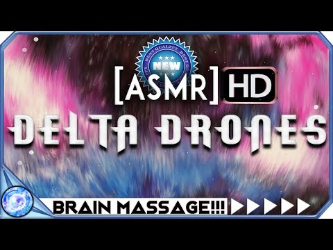 INSANE ASMR TINGLES: Ultimate Brain Massage With DELTA DRONES - Binaural Beats ASMR
