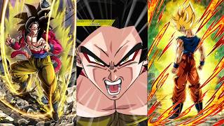 Beating Ssj Goku Before He goes into Rage Mode! DBZ Dokkan Battle