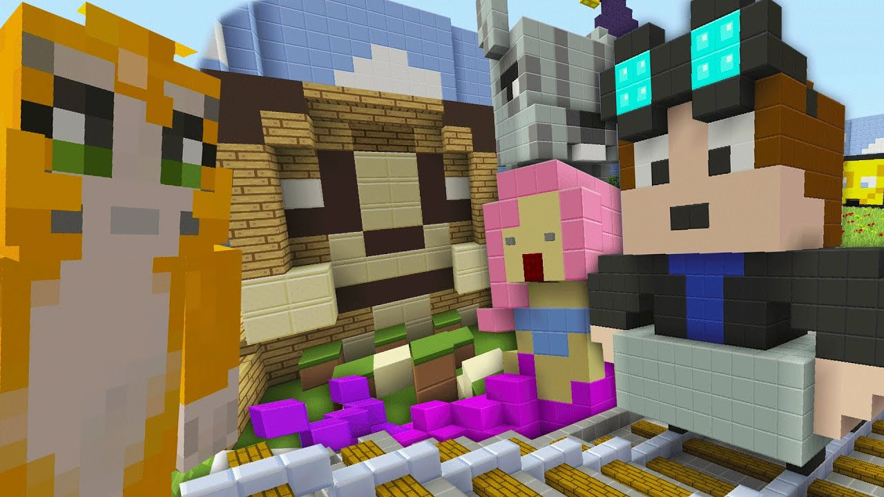 Minecraft Xbox Hide And Seek DanTDM Stampy And Youtuber Hide And Seek YouTube