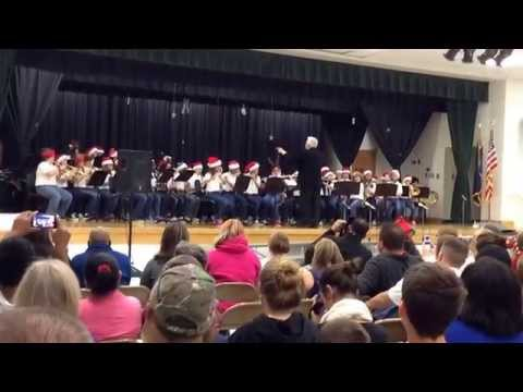 Hanahan middle school 6th grade band 2014