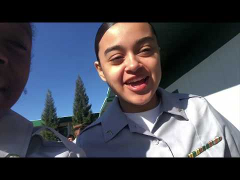 OUR FIRST PROMOTION IN JROTC