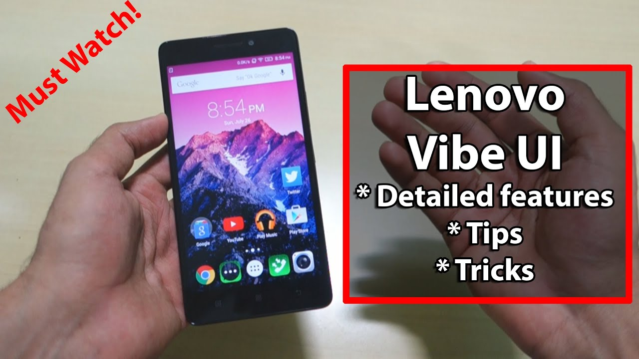 Must use Tips and tricks for Lenovo K3 note A7000 [All Lenovo phones]