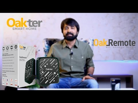 OAKTER SMART UNIVERSAL REMOTE DEVICE| HOME AUTOMATION
