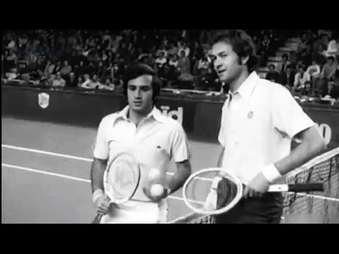 1976 Barcelona WCT Championship Tennis - Eddie Dibbs winner vs Cliff Drysdale