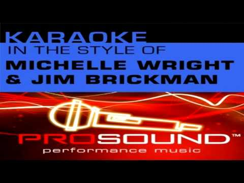 Michelle Wright and Jim Brickman-Your Love [Karaoke Instrumental]