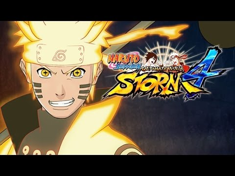 Naruto Shippuden: Ultimate Ninja Storm 4 All Cutscenes (Game Movie) 1080p HD