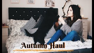 HUGE AUTUMN/FALL HAUL 2017 // Fall Fashion