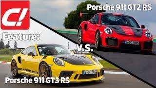Feature: Porsche 911 GT3 RS vs. Porsche 911 GT2 RS