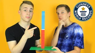 Attempting the LEGO Guinness World Records ft. AstonishingStudios