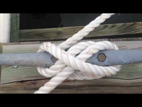 How to Tie a Cleat Hitch | Boating Tips