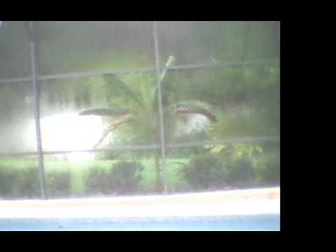 West DeLand, FL Hurricane Matthew Webcam