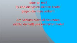 Mark Forster - Froh sein, with lyrics!