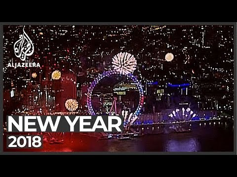 Cities across the world welcome 2018 | New year celebrations