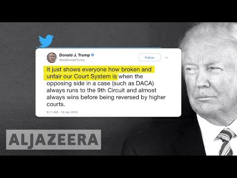 Trump attacks US courts, says no DACA deal without the wall 🇺🇸