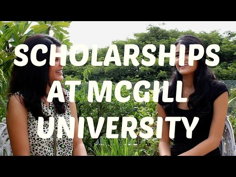 College Experience - Scholarships at McGill University