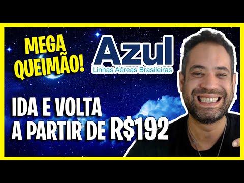 MEGA QUEIMÃO AZUL! PASSAGENS IDA E VOLTA A R$192!