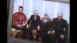 Rıza Kayaalp'in baba evinde şampiyonluk sevinci YOZGAT