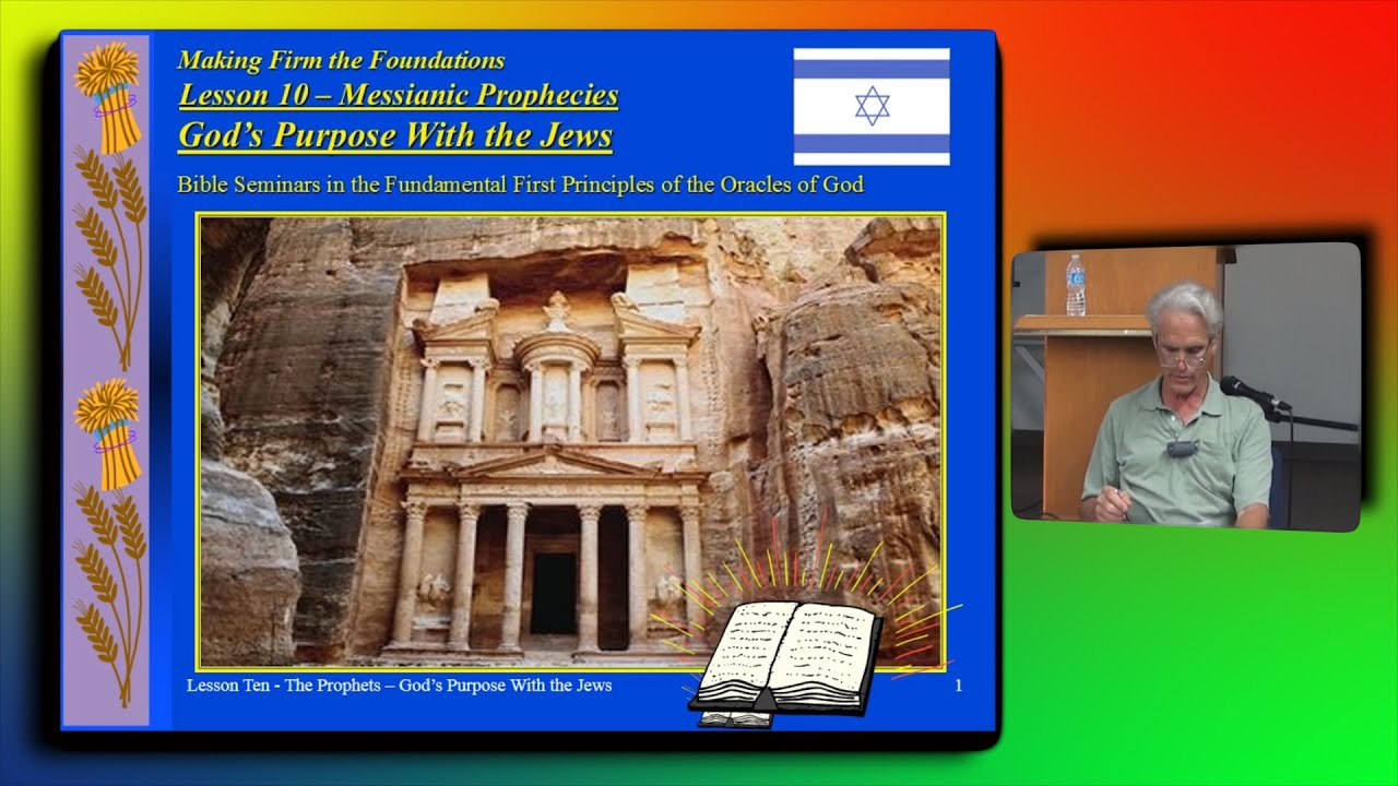God s purpose with the jews 1st principles series pt 10 youtube