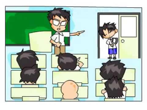 Terlambat Sekolah Animasi Oleh Uia Ciel Youtube