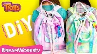 DIY Watercolor Backpacks | TROLLS