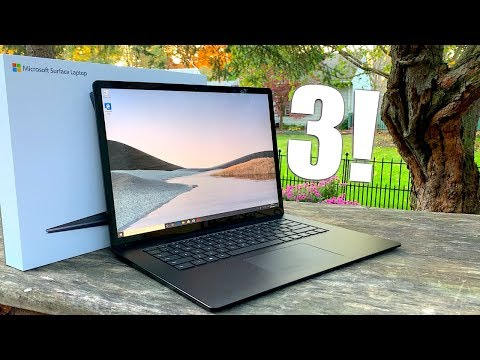 Microsoft Surface Laptop 3 Initial Review!