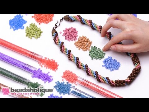 Show and Tell: Czech Sol Gel Seed Beads and Designer Palettes