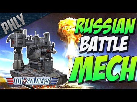 RUSSIAN BATTLE MECH (Toy Soldiers: Cold War Gameplay #8