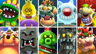 Super Mario Galaxy 1 & 2 HD - All Bosses (No Damage)