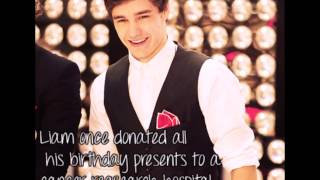 Cute Liam Payne facts (to Liam)