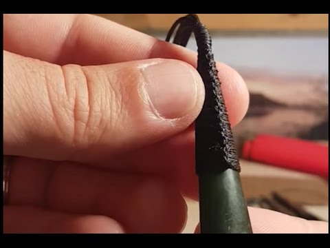 How to Tie a Maori Kuru Tear Drop Pendant Lashing Binding