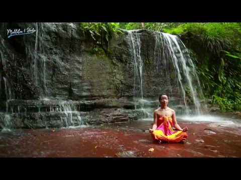 Nature Sounds - Live 24/7   Tropical Waterfall with Rainforest   Water Sound Nature Meditation
