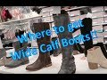 Where to Buy Wide Calf Boots - Plus Size Ponderings