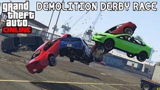 GTA Online- Figure 8 Demolition Derby Race Track