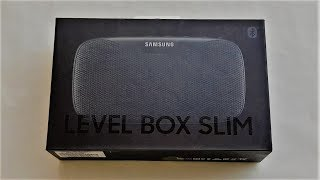 Samsung Level Box Slim Unboxing (Jordan) (فتح صندوق سماعة سامسونج ليفل بوكس (الاردن)