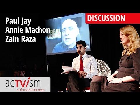 Discussion: Paul Jay, Annie Machon & Zain Raza (Part 2/4)