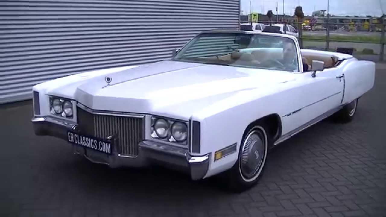Cadillac Convertible 2015 >> Cadillac Eldorado Convertible 1971 TOP condition-VIDEO- www.ERclassics.com - YouTube
