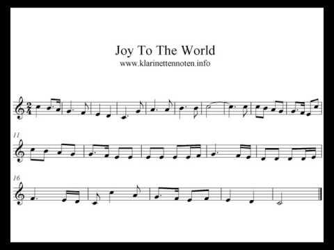 Play Clarinet, Trumpet  Joy To The World