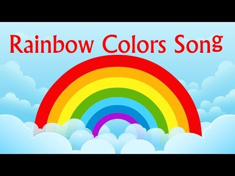 Nursery Rhyme- Rainbow Colors Song   Learning Colors For Children   Color Videos by Kids Tv