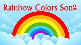 Nursery Rhyme- Rainbow Colors Song | Learning Colors For Children | Color Videos by Kids Tv