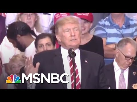 Lawrence Calls Out Donald Trump's Charlottesville Lie At Arizona Rally | The Last Word | MSNBC