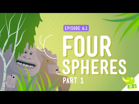 Four Spheres Part 1 (Geo and Bio): Crash Course Kids #6.1