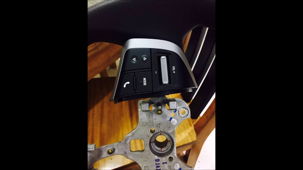 Retrofit of Isuzu DMAX/Mux Steering Wheel Audio Controls ...