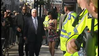 Amy Winehouse steps out with new man
