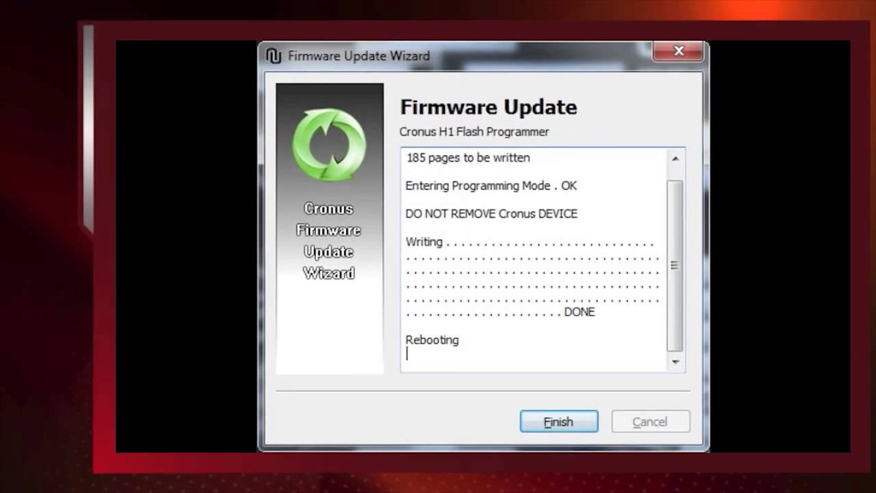 Cronus Software and Firmware Updates and Serial Number Location