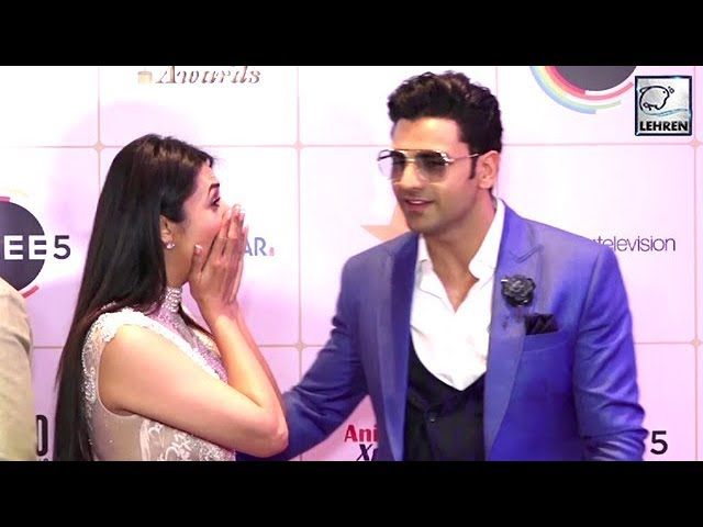 Divyanka Tripathis Embarrassing Moment With Vivek Dahiya   Indian Telly Awards 2019