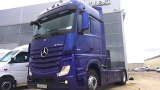 2016 Mercedes-Benz Actros 1845 LS. Обзор интерьер, экстерьер, двигатель .