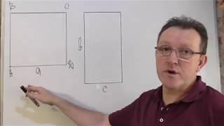 Соотношение площади и периметра прямоугольника и квадрата 2 часть.